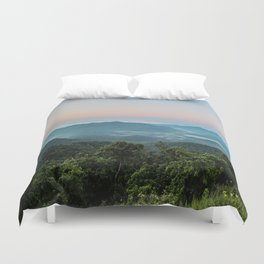 The Morning Mists Duvet Cover