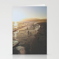 santa monica Stationery Cards featuring Santa Monica by Jake Boeve