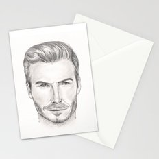 David Beckham Stationery Cards