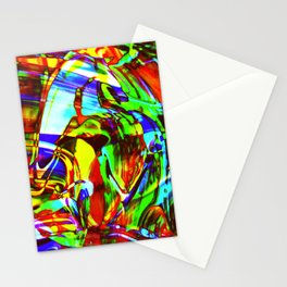 Fluid Painting 2 Stationery Cards