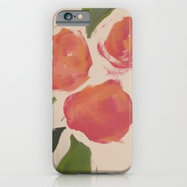 A Meeting Of Peaches. iPhone Case