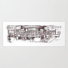 G St Wunderbar, Davis CA Art Print