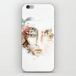 WHITEOUT iPhone Skin