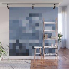 El Gato the Pixel Glacier Wall Mural