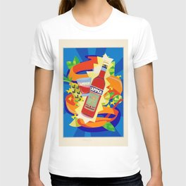 Vintage Cordial Campari Limited Edition Advertisement Poster #2 of 8 originally limited to 70 by Ugo T-shirt