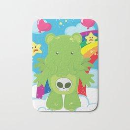 Cthulhu Care Bear Bath Mat