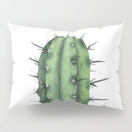 Watercolor Cactus Pillow Sham