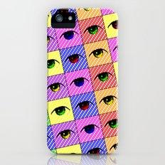 Eighties Eyes Slim Case iPhone (5, 5s)