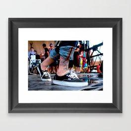VANS Framed Art Print