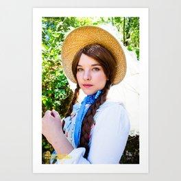 Lolita Summer Art Print