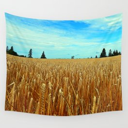 Wheat Field Wall Tapestry