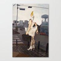 seoul Canvas Prints featuring Seoul tour  by MYLÈNE BRAGINA