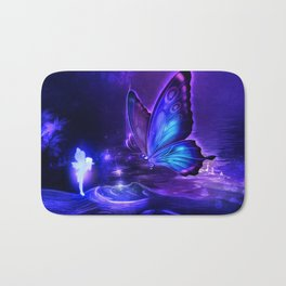 Pixie Butterfly Bath Mat