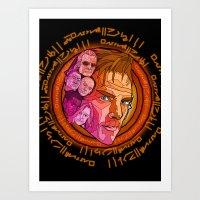 Dr. Strange Art Print