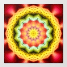 Prismatic Eye Mandala Canvas Print