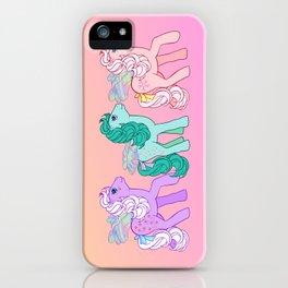 g1 my little pony year 4 Flutter Hideaway iPhone Case