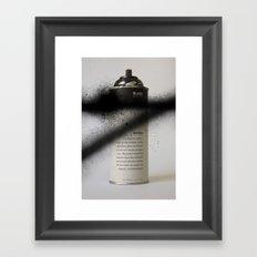 Juvenile Detention Framed Art Print