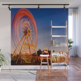 Giant Wheel Wall Mural