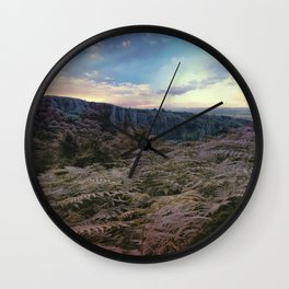Somerset Sunset Wall Clock