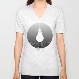 Daylight Dims Logo Unisex V-Neck