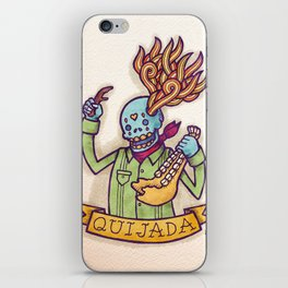 Quijada iPhone Skin