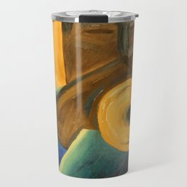 The Trumpet Player Travel Mug