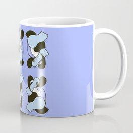 The Dance Of The Elephants  Coffee Mug