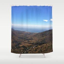 Volcanic Scene Shower Curtain