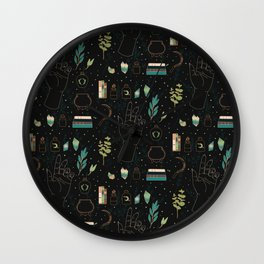Earth Witch Starter Kit Wall Clock