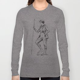 Vintage Sportswoman Long Sleeve T-shirt