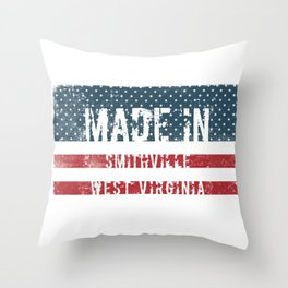 Made in Smithville, West Virginia Throw Pillow