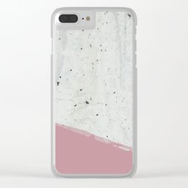 SIDEWALK Clear iPhone Case
