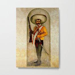 """Zapata"" by Diego Rivera Metal Print"