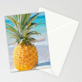 Aloha Pineapple Beach Kanahā Maui Hawaii Stationery Cards