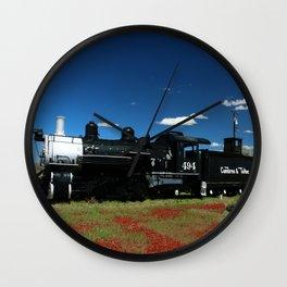 Cumbres And Toltec Engine 494 Wall Clock