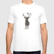 Oh my deer White MEDIUM Mens Fitted Tee