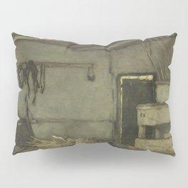Stalinterieur 1895 By Johan Hendrik Weissenbruch | Reproduction Pillow Sham