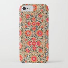 Kermina Suzani Uzbekistan Print iPhone Case