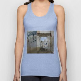 The Black House on the Hill Unisex Tank Top