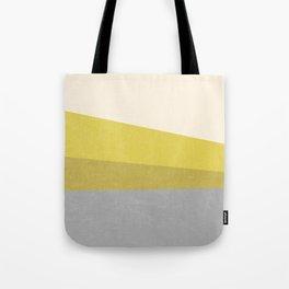 Stripe III: Hold the Mustard Tote Bag