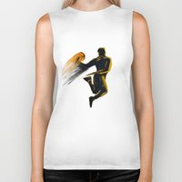 basketball Biker Tanks featuring Basketball  by Enzo Lo Re