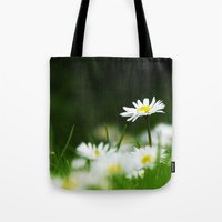 daisies Tote Bags featuring Daisies by Nathalie Photos