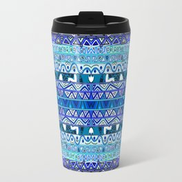 Faded Blues Travel Mug