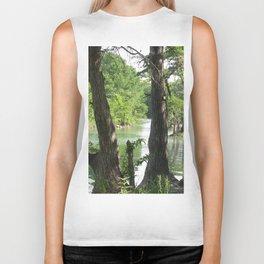 Waterside Trees Biker Tank