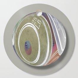 Weight Plates Orb Cutting Board