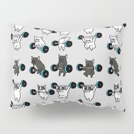 OLYMPIC LIFTING FRENCHIE Pillow Sham