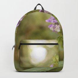 Light Purple Vintage Flowers Backpack