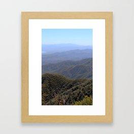 Four Peaks Framed Art Print