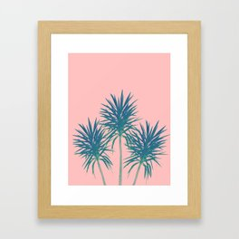 Palm Trees - Cali Summer Vibes #8 #decor #art #society6 Framed Art Print