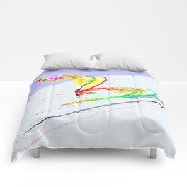 Skiing Comforters